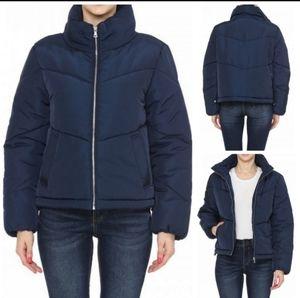 Montrez Lightweight Zip Up Puffer Jacket
